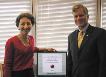 Jeanna Beker With VA Governor Bob McDonnell